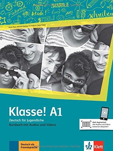 Klasse! a1, libro del alumno con audio y video