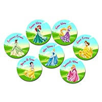 Get Invited Princess Well Done Teacher Reward Stickers X 70