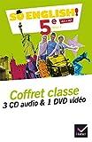 So English! Anglais 5e Éd. 2017 - Coffret CD / DVD classe