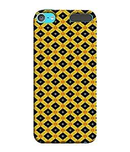 PrintVisa Designer Back Case Cover for Apple iPod Touch 6 (shining star makes creative pattern)