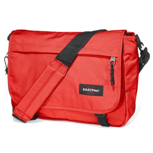 Eastpak Delegate Borsa Messenger, 20 litri, Multicolore (Brize Bw), 38 cm Rosso (Red Crest)