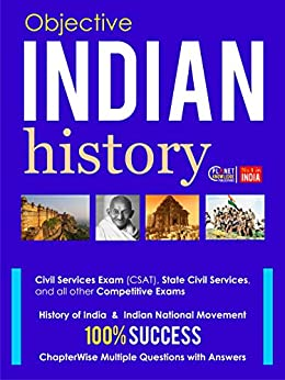 Indian History : Objective: For all competitive Exams by [Indian History Editorial Board]