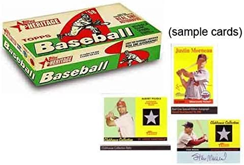2007 Topps Heritage Baseball Cards Hobby Box (24 packs/box, 8 cards/pack) by Topps