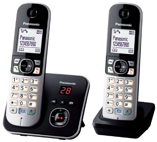 Panasonic KX-TG6822 Téléphones Sans fil Répondeur Ecra