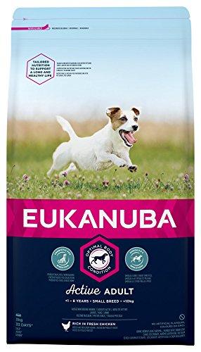 EUKANUBA Adult para Perros Razas Pequenas - 3 kg