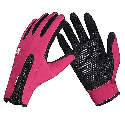 Gants d'hiver, Cotop Extérieur Windproof Cyclisme Chasse Escalade Gants Tactiles
