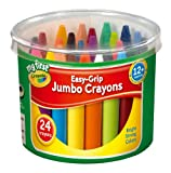 Crayola My First Cubo de 24 ceras de colores