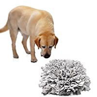 Comfysail Pet Training Snuffle Mat Stress Release Pad for Training Feeding Nose Work Smell Snuffle Mat 43 x 43cm