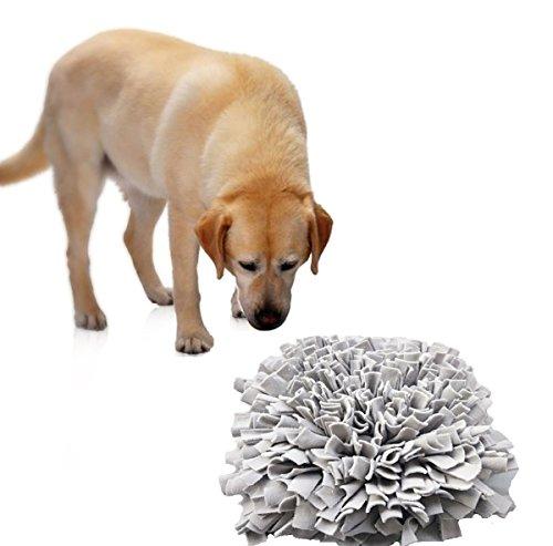 Comfysail Pet training Snuffle tappetino stress rilascio Pad per allenamento Feeding naso lavoro odore Snuffle tappetino 43x 43cm