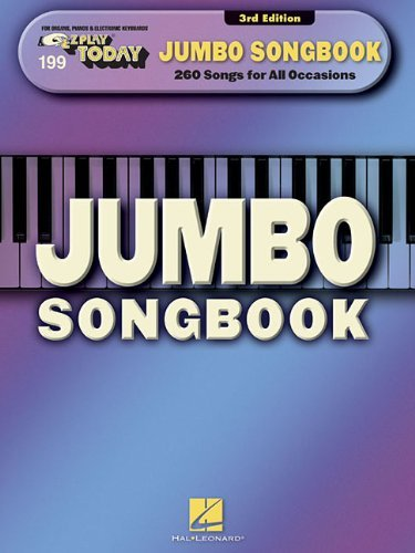 Jumbo Songbook (E-Z Play Today) by Hal Leonard Publishing Corporation (Corporate Author) (1-May-2014) Paperback