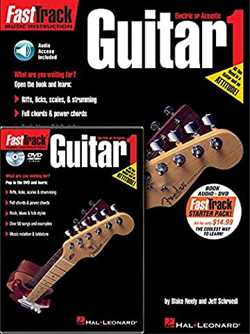 Fast Track Starter Pack Guitar Bk/Cd/Dvd Pack