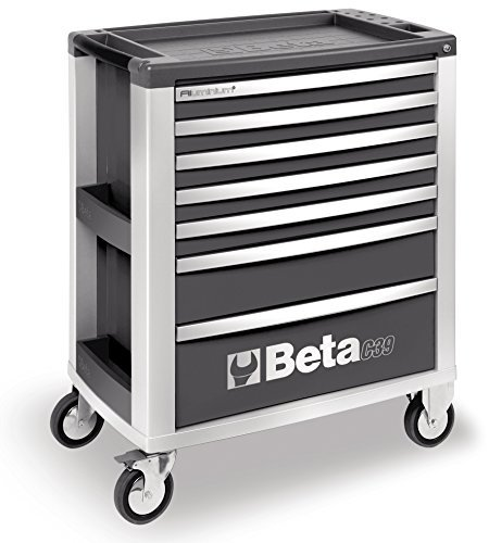 Beta C39 G Mobile Cab mit 7-drawers – Grau