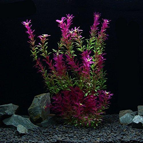 Künstliche Simulation Pflanzen Umweltfreundlich Kunststoff Aquarium Deko Fish Tank Aquatic Beautiful Wasser Gras Ornament Schöne Decor Landschaft Pflanze Zubehör