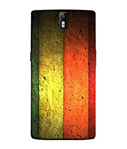 PrintVisa Flying Colors 3D Hard Polycarbonate Designer Back Case Cover for OnePlus One :: OnePlus 1 :: One Plus One