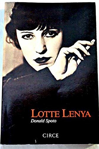 Lotte Lenya par Donald Spoto