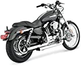Vance & Hines droitshots Chrome Harley Davidson Sportster 2004-2013