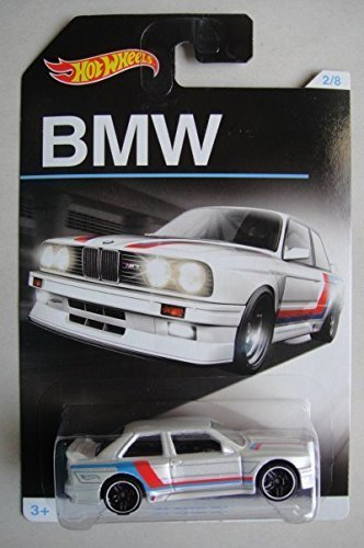 HOT WHEELS EXCLUSIVE BMW SERIES WHITE '92 BMW M3 2/8 by Hot Wheels