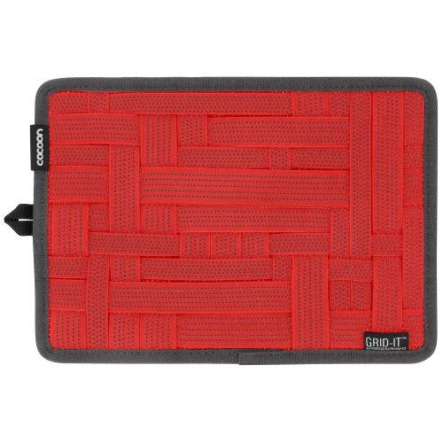 Grid-it Organizer (Cocoon CPG8RD-NA GRID-IT! Organizer Medium, 26,67 x 19,05 cm (10,5 x 7,5 Zoll) racing rot)