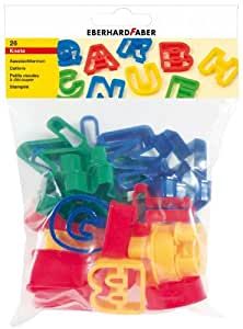 Eberhard Faber 579911 - Ausstechformen Set, ABC, 26-teilig