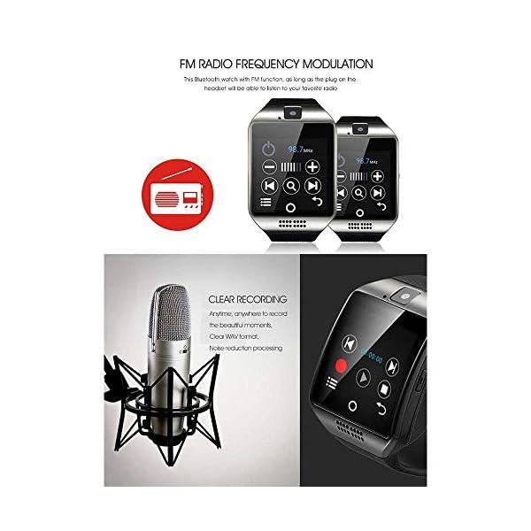 Smartwatch para Hombres y Mujeres, Reloj Inteligente con Monitor de Pasos, Pulsera Deportiva Inteligente, Reloj de… 3