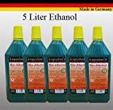 5 liters of high performance liquid bio ethanol
