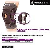 EmbassySports Mueller Knie Wickelbandage mit Gelenk Bandage Gr.Regular 30-40cm