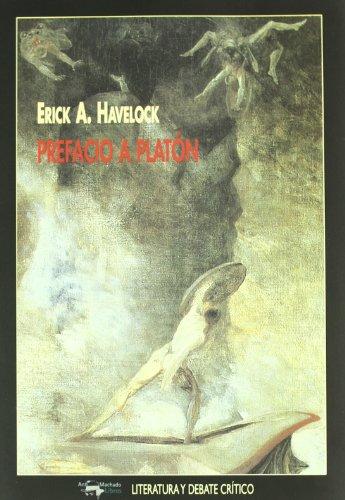 Prefacio a platon por Erik A. Havelock
