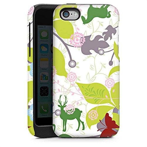 Apple iPhone 4 Housse Étui Silicone Coque Protection Floral Motif Motif Cas Tough brillant