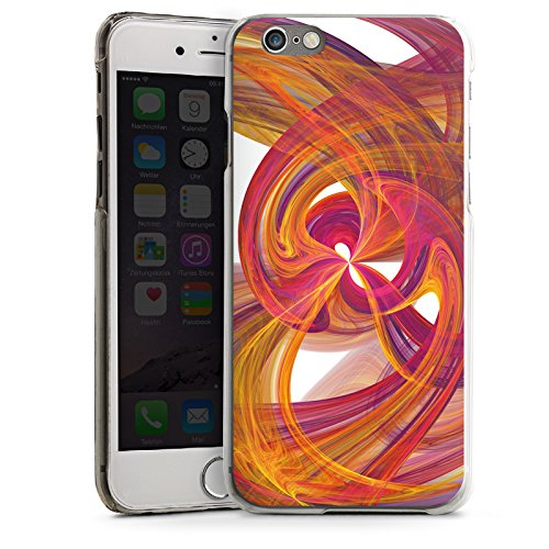 Apple iPhone 5s Housse Étui Protection Coque Spirale Peinture Abstrait CasDur transparent