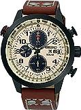 Seiko Chronograph White Dial Men's Watch, SSC425P1