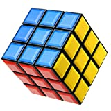 Zauberwürfel Kubik 3x3x3- Speedcube - mit optimierten Dreheigenschaften für Speed-Cubing - magic Würfel cubes, auch als Deko für 80er & 90er Jahre Party set