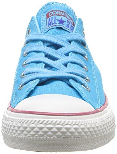 Converse - Zapatillas Chuck Taylor All Star Wash Ox, Azul Mujer - Azul