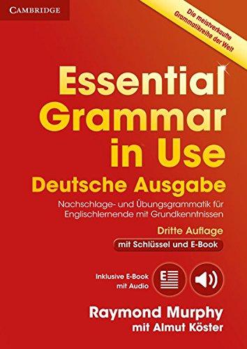 Preisvergleich Produktbild Essential Grammar in Use: German Third Edition . Book with answers and Interactive ebook