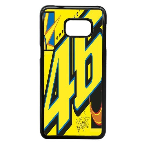 Samsung Galaxy S7 Cell Phone Case Black Valentino Rossi VR 46 Custom Case Cover QW8I568578