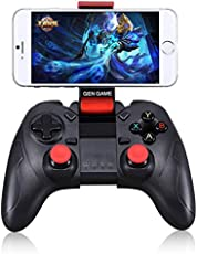 Wireless Bluetooth S6 Gamepad For Android & Apple Smartphone With mobile Holder
