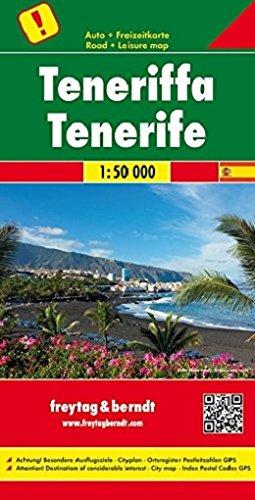 Teneriffa 1 : 50 000 por Freytag & Berndt