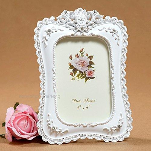 XBR Idilico princesa marco de la foto, marco de la foto de estilo europeo, creativo, regalo precioso...