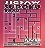 Jigsaw Sudoku book: irregularly shaped sudoku puzzles in large font: Volume 1 by Djape (2015-06-19)