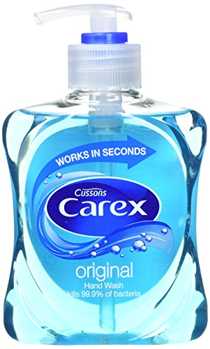 Carex - Pack 6 botellas jabón líquido antibacteriano