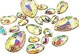 EIMASS 8868 Sew on cristalli, exquisite gamma per costume abbellimento, gemme