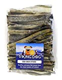 Healthy Dog Treats - Cod Skin (Sticks, 400g) | Rich in Omega 3, low fat and hypoallergenic