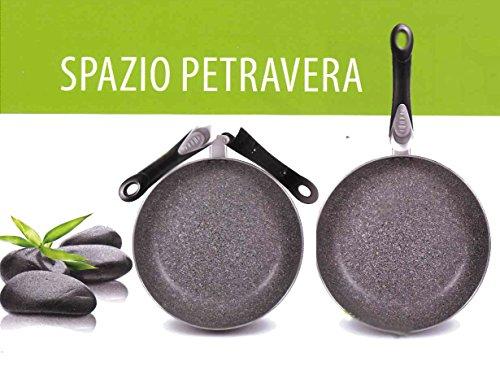 Aeternum Bialetti - Padella antiaderente SPAZIO PETRAVERA diametro 24 cm