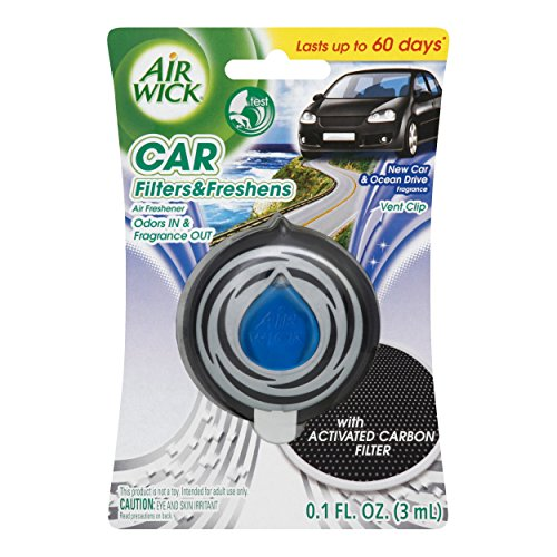 Air Wick Auto Filter & Fresh Brise océanique d'aération Clip (lot de 3)