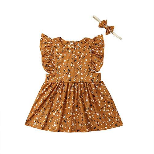 Passende Schwester Sommer Outfit Kleid rustikale Floral Big Sister Kleid Little Sister Romper