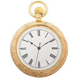 1St. Bulily Men Pocket watch gold AP-OTA-048