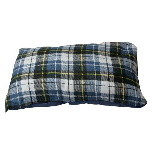 10T Camp Pillow 40x25cm Reisekissen Campingkissen Kopfkissen Schlaf-Kissen Sitzkissen mit integriertem Packbeutel zum umstülpen - 4