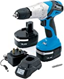 Draper 20495 14.4-Volt Cordless Hammer Drill with Two Ni-CD Batteries