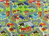 Hemmers Nursery Stoff – Spielmatte Stadt – Filzplatte