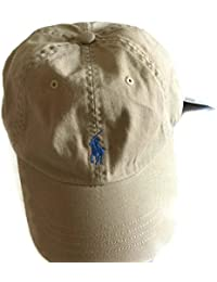 NEW Genuine RALPH LAUREN Classic Cotton Baseball Cap Hat - Mens One Size