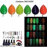 (Luminous UV Gel Polish )-uv nail polish and lampnail kit mini #6ygtg-01